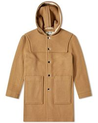 Acne Studios Orvon Duffel Coat - Brown