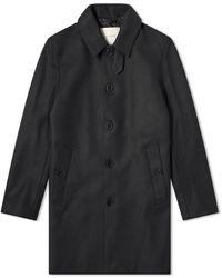 Mackintosh Dunoon Wool Car Coat - Black