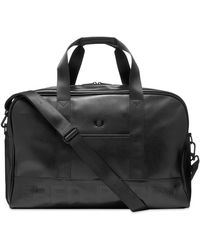 Fred Perry Embossed Holdall - Black