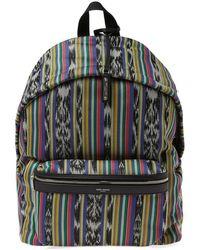 Saint Laurent - Ikat City Backpack - Lyst