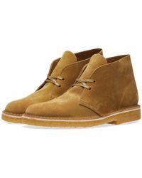 Clarks - Desert Boot - Made In Italy - Lyst