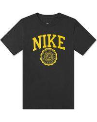 Nike Colligate Logo Tee - Black