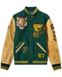 Polo Ralph Lauren - Wool-blend Letterman Jacket - Lyst