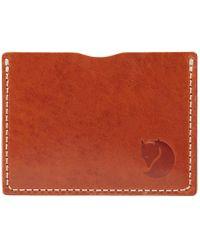 Fjallraven Övik Card Holder - Brown