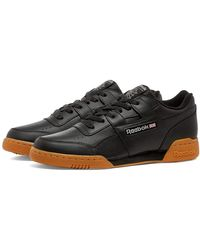 Reebok Workout Plus Casual Training Shoes - Black