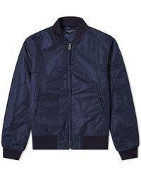 Engineered Garments Aviator Jacket - Blue