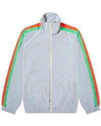 Gucci Reflective Webbing Track Jacket - Gray