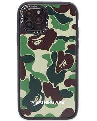 A Bathing Ape X Casetify Abc Camo Iphone 11 Pro Case - Green