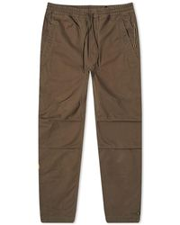 Maharishi Life-death Embroidered Track Pant - Brown
