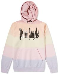 dfc7102423a85 Palm Angels 'gothic Rainbow' Logo Print Hoodie for Men - Lyst