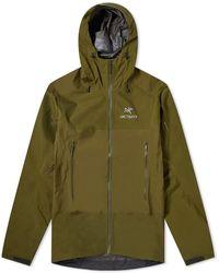 Arc'teryx Arc'teryx Beta Sl Gore-tex Hybrid Jacket - Green