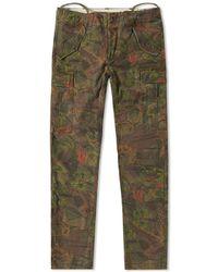 Polo Ralph Lauren Camo Cargo Pant - Green