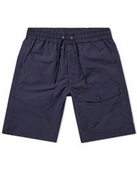 Nanamica - Micro Polyester Taffeta Easy Shorts - Lyst