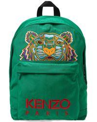 KENZO - Tiger Head Motif Backpack - Lyst