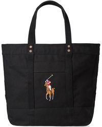 Polo Ralph Lauren - Embroidered Tote Bag - Lyst
