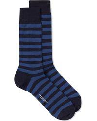 Blue Blue Japan - Indigo Dyed Yard Sock - Lyst