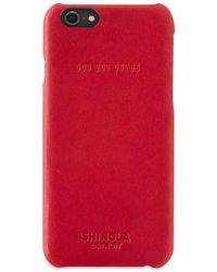 Shinola Iphone 6 Case - Red