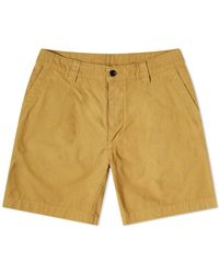 Albam - Garment Dyed Ripstop Pleated Short - Lyst