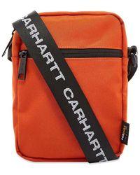 Carhartt WIP Brandon Shoulder Pouch - Orange