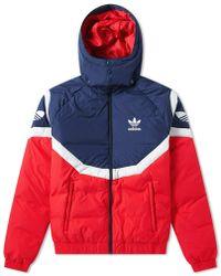 ed54719b4ade Lyst - adidas Originals Logo-printed Jacket in Gray for Men