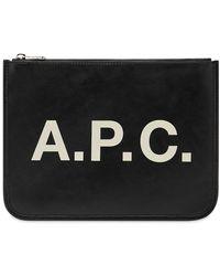 A.P.C. Morgan Pouch - Black