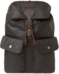 Barbour - Linton Backpack - Lyst