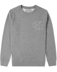 Calvin Klein | Hasto Small Logo Crew Sweat | Lyst