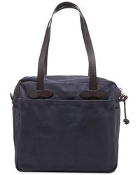Filson Zip Tote Bag - Blue