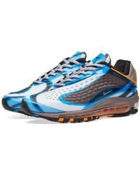 WOMENS NIKE AIR MAX DELUXE SE AT8692 001 Size 4 12 Oil Grey