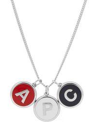 A.P.C. - Letters Necklace - Lyst