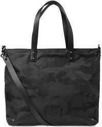 Valentino - Nylon Jaquard Camo Tote Bag - Lyst