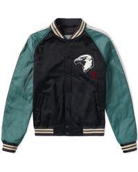 Lanvin Eagle Varsity Jacket - Black