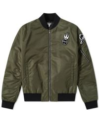 McQ - Mcq By Alexander Mcqueen Cave Ma-1 Jacket - Lyst
