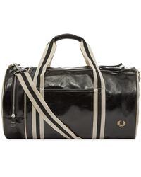 Fred Perry Classic Barrel Bag - Black