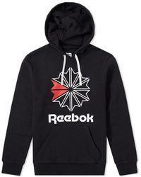 Reebok - Star Hoody - Lyst