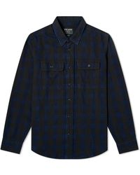 Filson Checked Scout Shirt - Blue