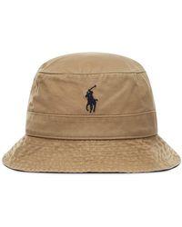 Polo Ralph Lauren Bucket Hat - Brown