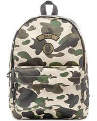 A Bathing Ape 1st Camo Day Pack - Green