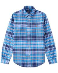 Polo Ralph Lauren   Slim Fit Button Down Oxford Shirt   Lyst