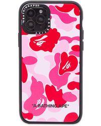A Bathing Ape X Casetify Abc Camo Iphone 11 Pro Case - Pink