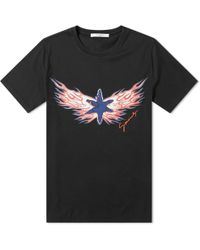 Givenchy - Fire Star Logo Tee - Lyst
