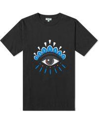 KENZO Men's Classic Eye Graphic T-shirt - Black