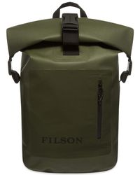 Filson Roll-top Dry Backpack - Green