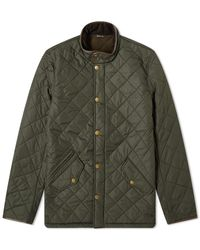 Barbour Powell Quilt Jacket - Green