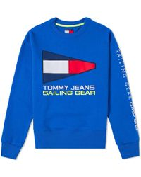 Tommy Hilfiger - 5.0 90s Sailing Logo Crew Sweat - Lyst