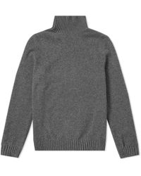 A.P.C. - Cidre Roll Neck Knit - Lyst