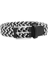Andersons Anderson's Woven Textile Belt - Black