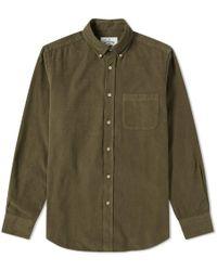 Portuguese Flannel - Button Down Lobbo Corduroy Shirt - Lyst