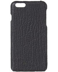 Rick Owens - Textured Leather Iphone 6 Plus Case - Lyst
