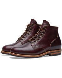 Viberg - Plain Toe Service Boot - Lyst